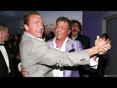 When Arnold Schwarzenegger and Sylvester Stallone Go Out in Public