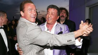 When Arnold Schwarzenegger and Sylvester Stallone Go Out in Public