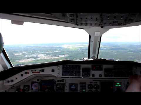Saab 340 full flight Pori - Helsinki, Finland FULL HD!