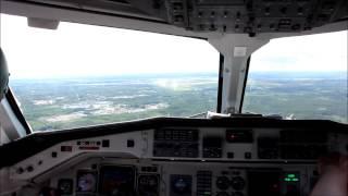 Saab 340 full flight Pori - Helsinki, Finland FULL HD!