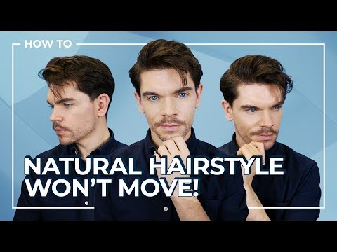 Men's Hairstyle 2019 | Natural Looking Hair That Stays All Day! thumbnail