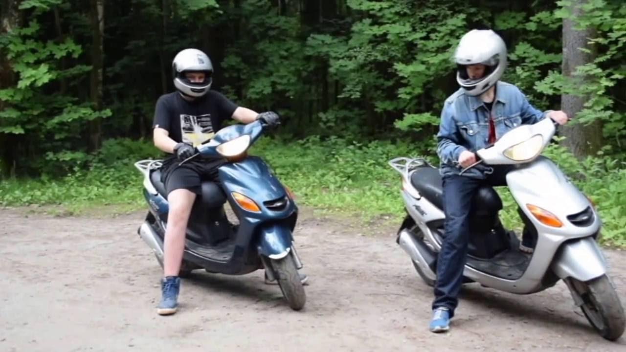 Обзор скутера Yamaha Jog space innovation (SA12J) - YouTube