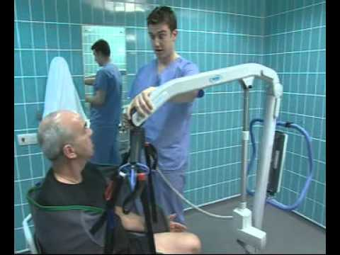 Oxford Professional Presence Patient Hoist Wheelchair To