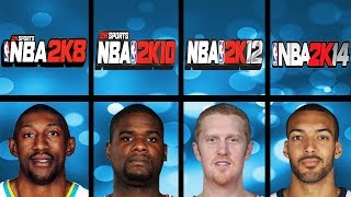 Lowest Rated Basketball Players Ever In NBA 2K Games (NBA 2K - NBA 2K18)