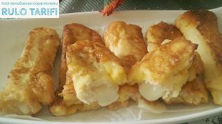 Tost Ekmeğinden Kaşar  Peynirli Rulo Tarifi Nasıl Yapılır? -Hülya Ketenci- Yemek Tarifi