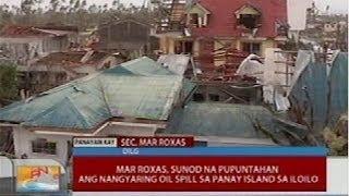 Sec. Roxas, nilibot ang Palawan para alamin kung gaano kalawak ang pinsala nito mula sa bagyo