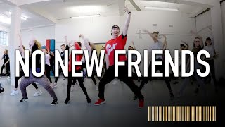 NO NEW FRIENDS by Sia , Diplo , Labrinth & LSD | Beginner Dance CHOREOGRAPHY