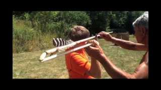 Atlatl competion in Fond du Lac Wi.