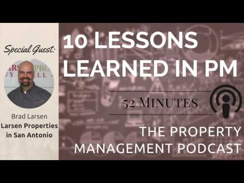 10 Mistakes Running a Property Management Business with Brad Larsen