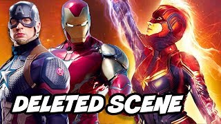 Avengers Captain Marvel Deleted Scene and Avengers Endgame Breakdown