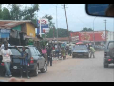 3418 Travel by car from Kinshasa to Matadi, Congo D.R.