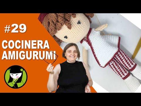 COCINERA AMIGURUMI 29 camisola tejida a crochet