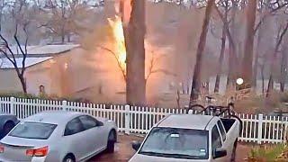 Most Intense Lightning Strikes Caught On Video
