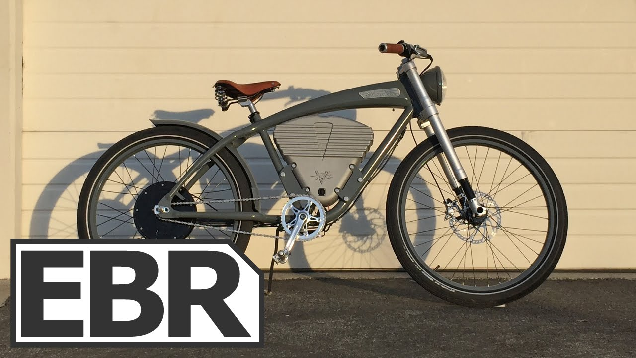 vintage electric bikes tracker video review youtube. Black Bedroom Furniture Sets. Home Design Ideas