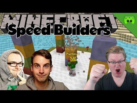 PIETS ERSTES MAL 🎮 Minecraft Speed Builders #4