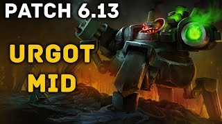 Urgot Mid - Full Game Commentary (League of Legends)