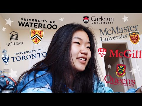 CANADIAN UNIVERSITY DECISION REACTIONS 2019 (UOFT, WATERLOO, MCGILL ETC.) | Allie C.