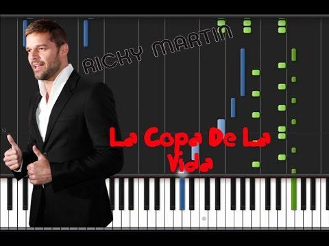 Ricky Martin - La Copa De La Vida [Piano Tutorial] (♫) - YouTube