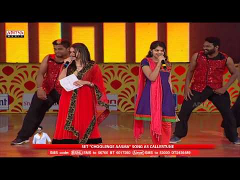 Choolenge Aasma Song Live Performance At Temper Audio Launch - Jr, Kajal Agarwal