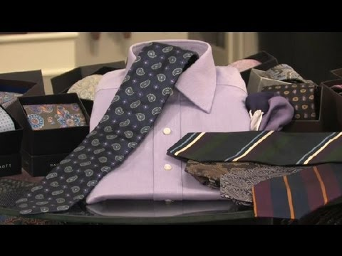 What Tie To Wear With My Lavender Dress Shirt Neckties