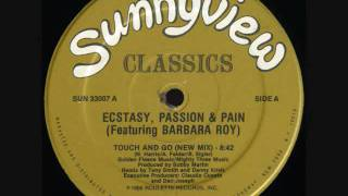 Rare Classic Disco Ectasy, Passion, & Pain - Touch &  Go Rare 1986 Extended Rmx