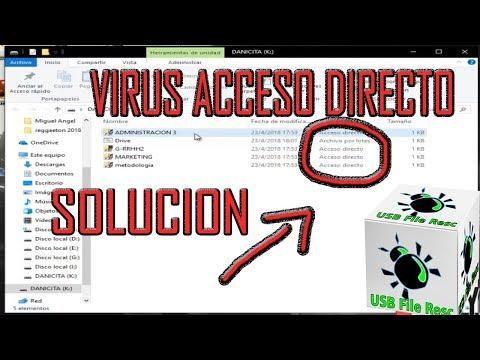 SOLUCION VIRUS CREA ACCESOS DIRECTOS OCTUBRE 2018