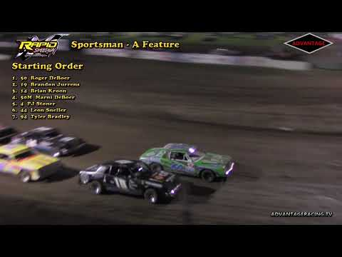 Sportsman heat/feature - Rapid Speedway 5/4/18