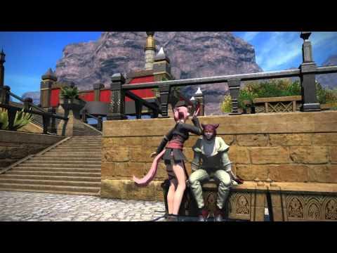 Final Fantasy XIV - Girl Meets Boy
