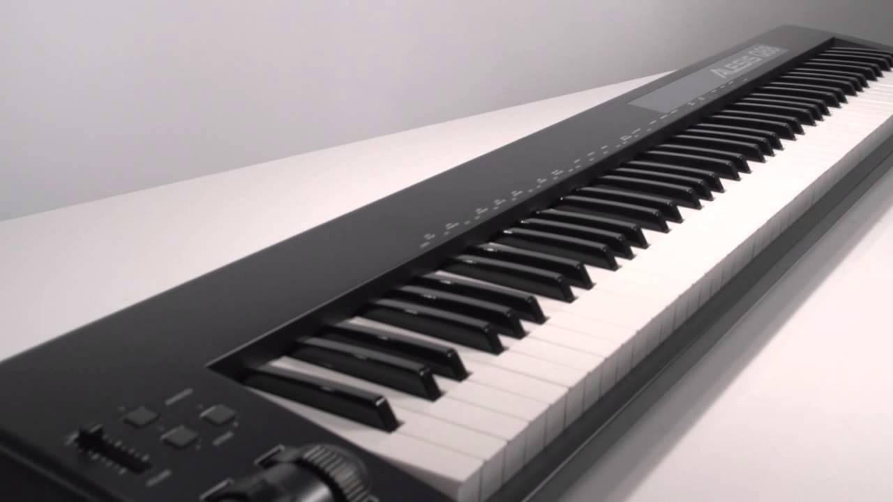 alesis q88 usb midi keyboard controller overview youtube. Black Bedroom Furniture Sets. Home Design Ideas
