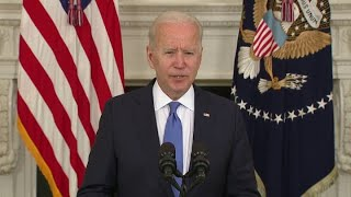 President Joe Biden on the American Rescue Plan