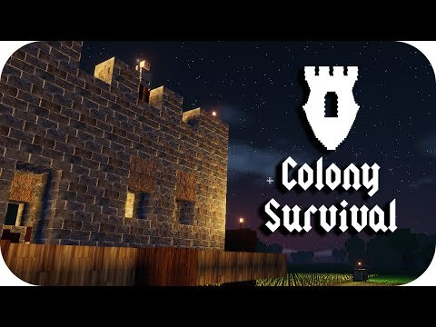 Colony Survival - 1. The Tale of Two Archers - Let's Play Colony Survival Gamplay