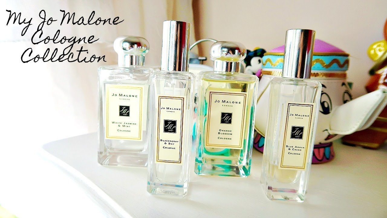 ddcec8853e8a My Jo Malone Cologne Collection // Spring Scents - YouTube