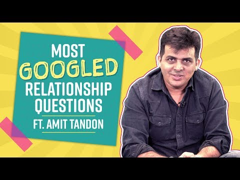 Most Googled Relationship Questions ft Amit Tandon | life style | Pinkvilla