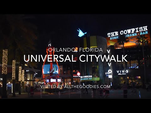 Universal CityWalk Orlando 2018