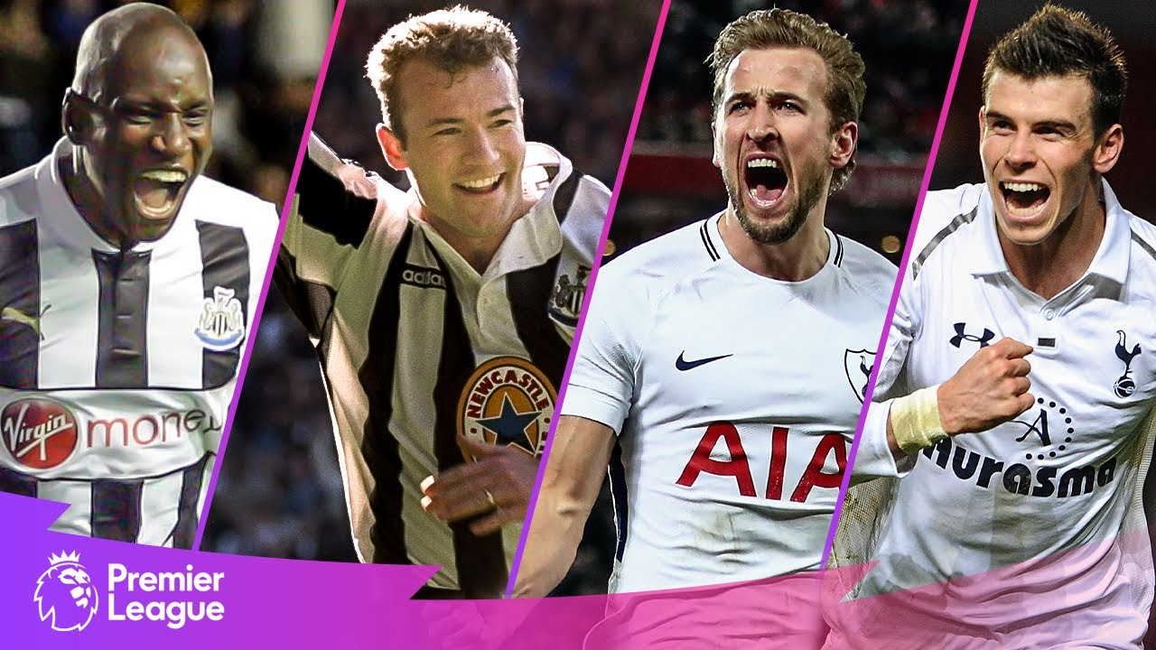 Newcastle United vs Tottenham Hotspur | Classic Premier League Goals | Shearer, Kane, Bale