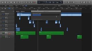 Como consolidar e separar Tracks no Logic Pro X