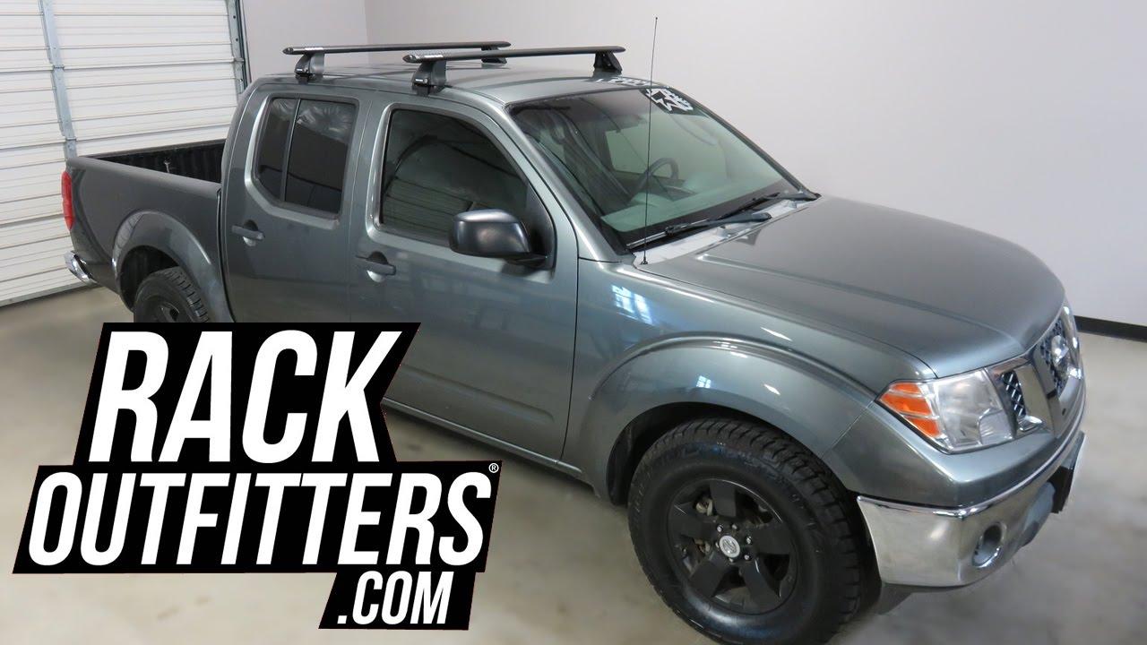 nissan frontier with rhino rack 2500 vortex roof rack. Black Bedroom Furniture Sets. Home Design Ideas