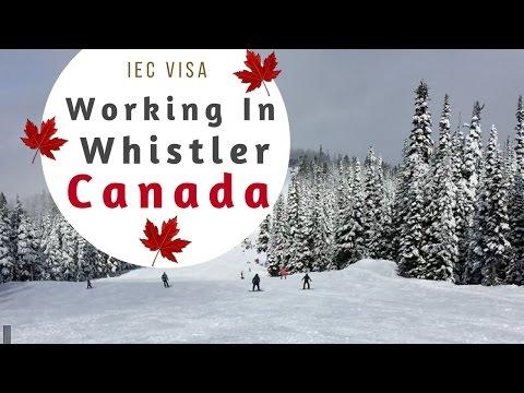 CANADA - 1 Year Working Travel IEC Visa (Whistler Ski Resort)
