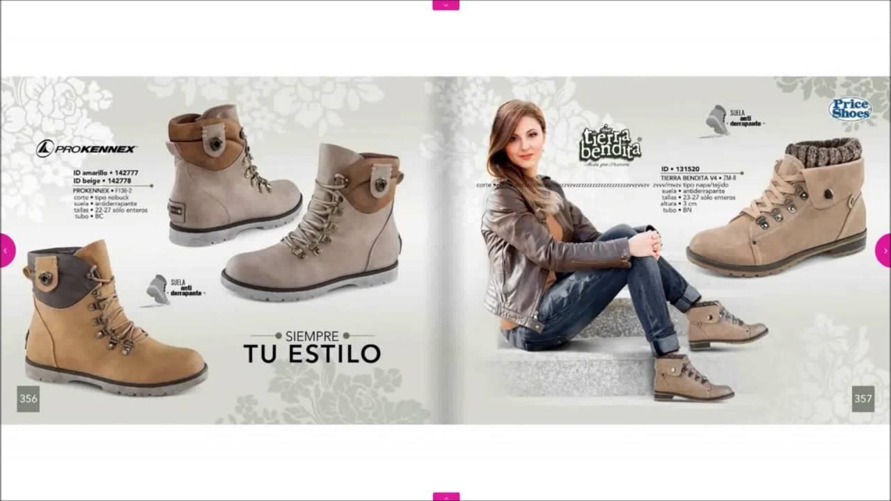 21d7706a49 Catálogo Price Shoes Botas 2016 - YouTube