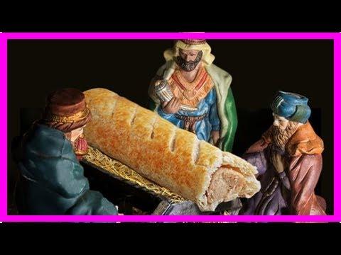 World News - Sausage roll jesus create heartburn for his bread company