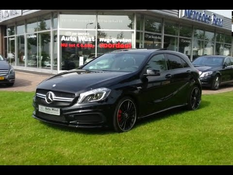 Mercedes Benz A45 Amg 2015 Start Up In Depth Review Interior