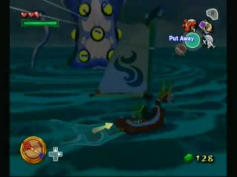 Wind Waker Big Octo Tingle Island