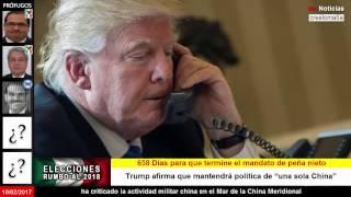 El presidente de China advierte a Trump y Donald  se retracta