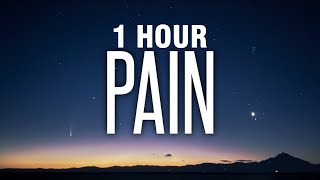[1 HOUR] Nessa Baŗrett - Pain (Lyrics)