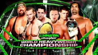 WWE Elimination Chamber 2012 Full Match Card HD Matches