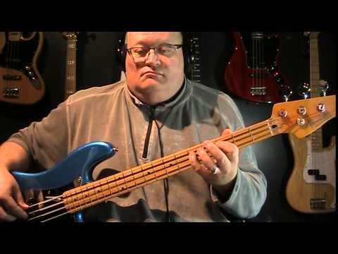 The Temptations Get Ready Bass Cover with Notes & Tablature