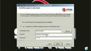 Installing Trend CSM Suite 3.6 on Small Business Server
