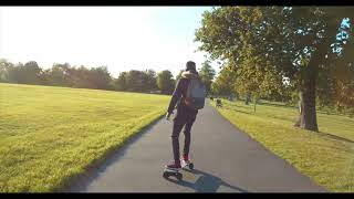 Slick Revolution Urban Kick Electric Skateboard Review with Pros & Concs