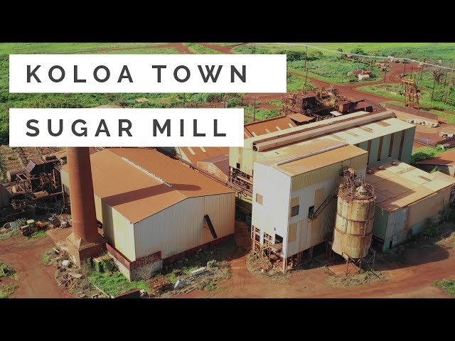 Sugar Mill in Old Koloa Town, Kauai
