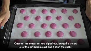 Learn How To Make Macarons In 5 Minutes